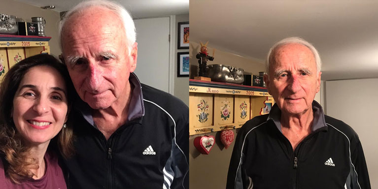 Kurt Wippel, 88 years old, stays strong and healthy with regular exercise
