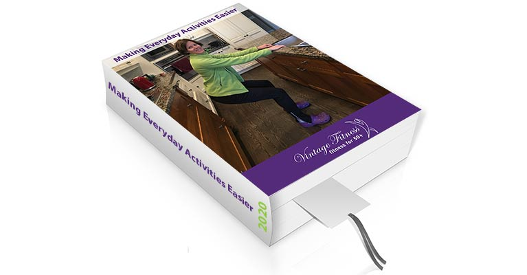 Exercises for seniors to make everyday activities feel easier. Free eBook by Vintage Fitness