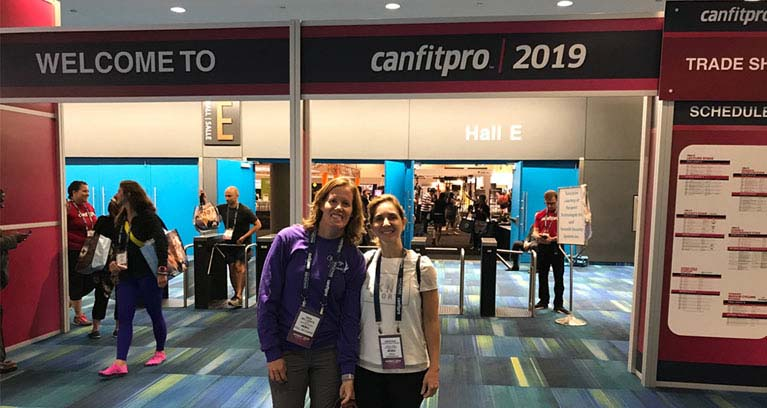 The Vintage Fitness personal training team attended the 2019 Canadian Fitness  Professionals conference (Canfitpro 2019)