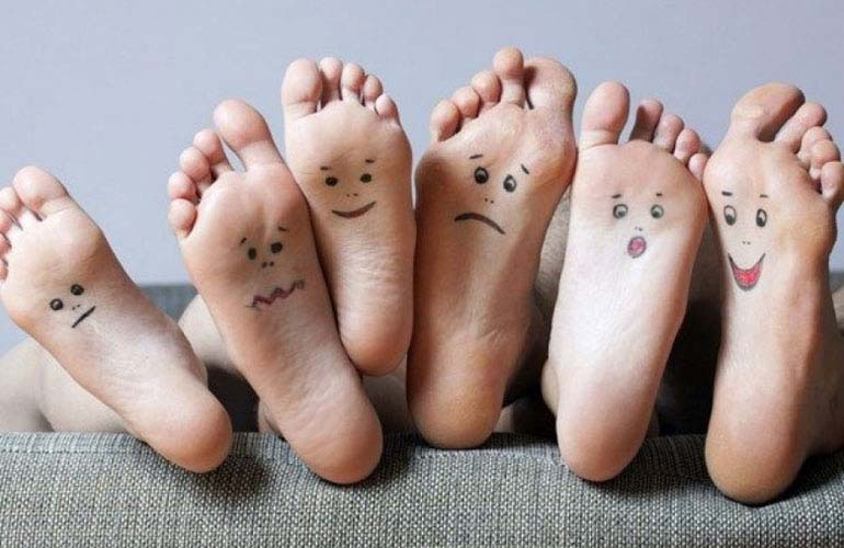 Healthy feet are happy feet