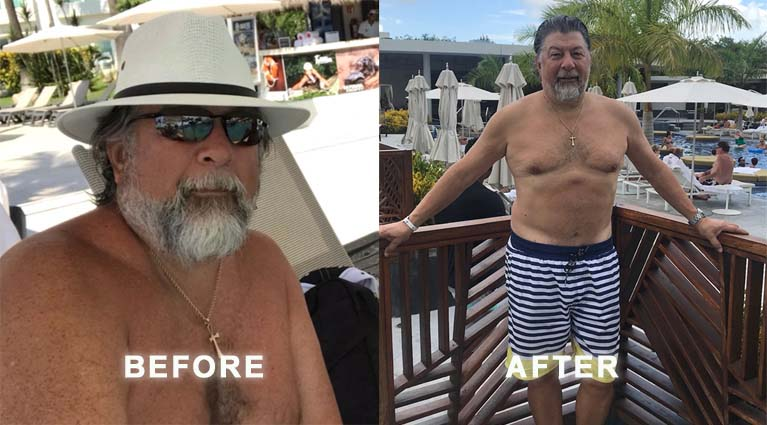 Peter is a 67 years old fitness success story