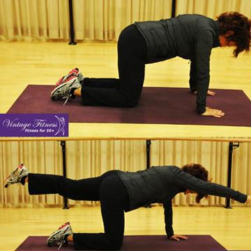 Exercising with back problems