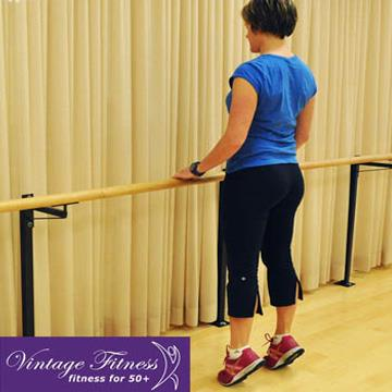 15 minute full body holiday workouts for the 50+ - 5/6 - Better Balance