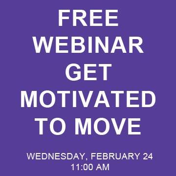 Free Webinar: Get Motivated to Move