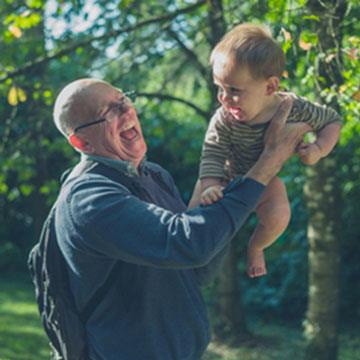 Making everyday activities easier - Lifting grandchildren