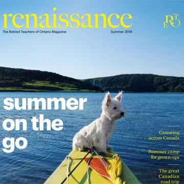 Renaissance Magazine features Summer Exercise Program and our PT Dee