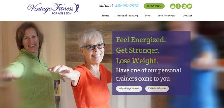 Vintage Fitness team has been busy redeveloping our website
