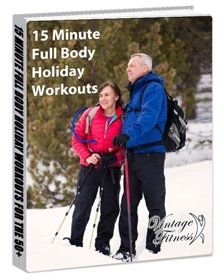Six free 15 minute at home workouts for adults over 50
