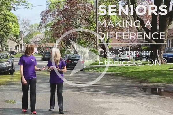 The Ontario seniors secretariat recognized vibrant seniors as a celebration of senior's month.