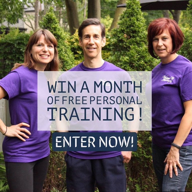 Share Your Story for a FREE Month of Personal Training