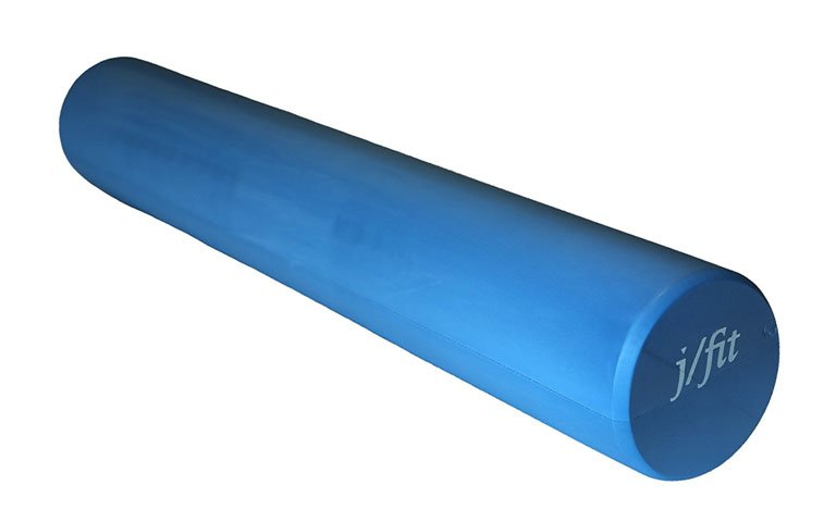 A foam roller is ideal for stretches