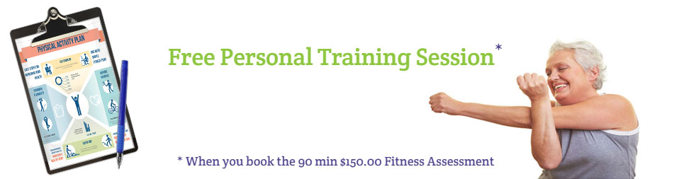 Comprehensive Fitness Assessment for adults over 50 in the Greater Toronto Area