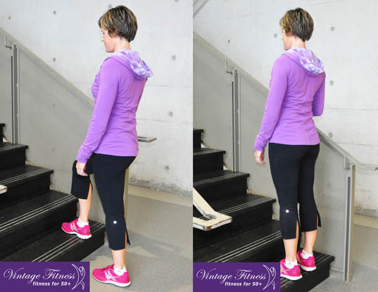 Stair climb exercise